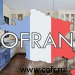 Французский интерьер в кухне